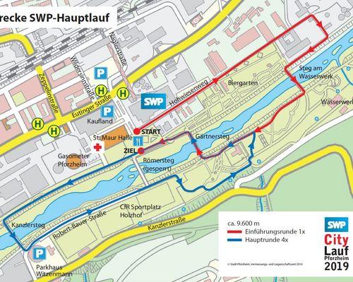Streckenänderung!! SWP-Hauptlauf auf 9.600m gekürzt