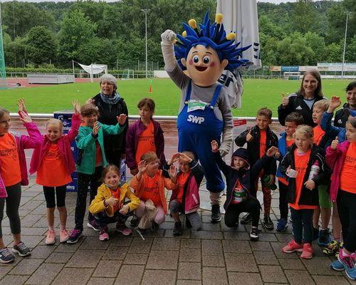 Sparkassen Kinderleichtathletik-Challenge: Über 100 Kinder lernten die Leichtathletik kennen