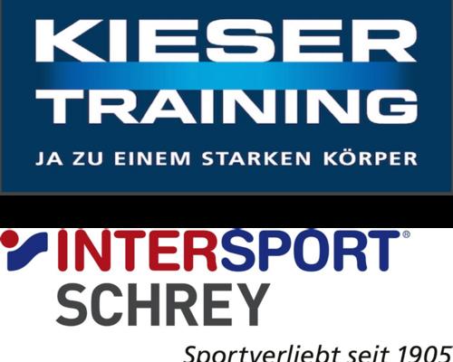 Kieser Training und Intersport Schrey übernehmen Eure Startgebühr