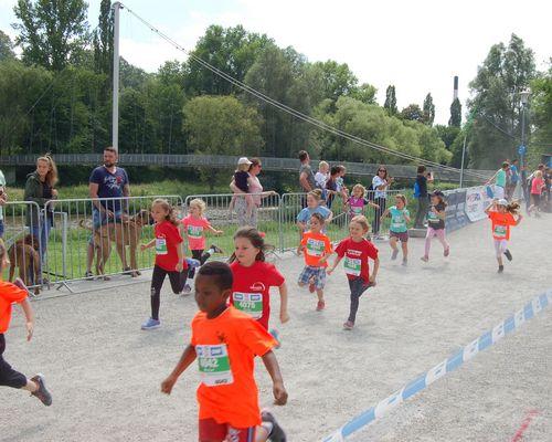 Sparkassen Kinderleichtathletik-Challenge im Rahmen des SWP CityLaufes Pforzheim 2021